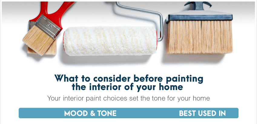 Considering colors to paint your home